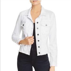 NWT Kut From the Cloth Helena White Denim Jacket